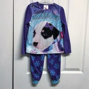 Extremely Me Pajama Set Size 4 Snow Awesome New